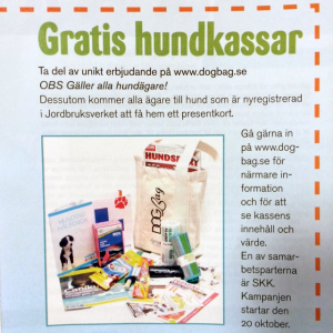 DogBAG i Press Tidning 2014